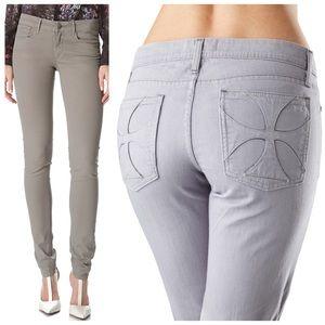 Habitual H pocket LIKE NEW ash gray skinny jeans